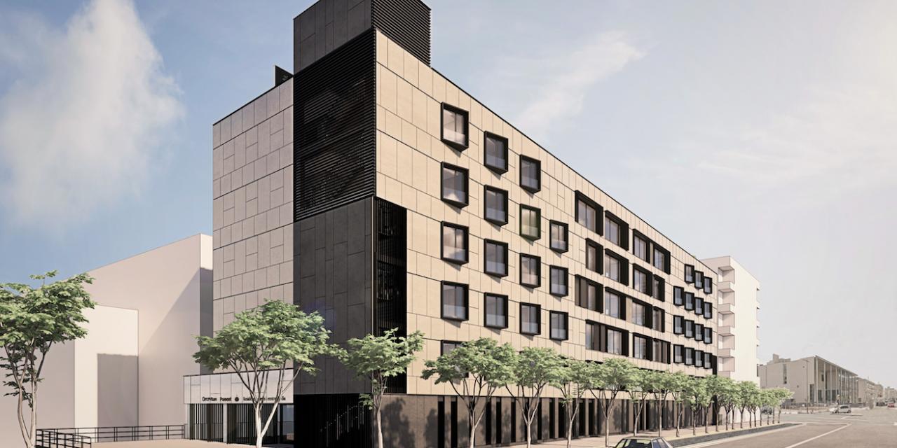 B\TA proyecta una residencia de 154 plazas en Lleida