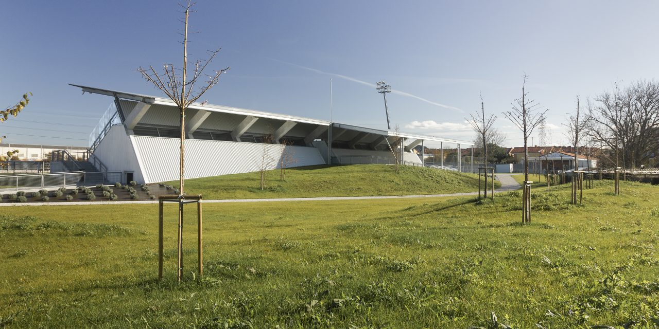 MID estudio termina la primera fase de la ampliación de las instalaciones deportivas de Soto de la Marina (Cantabria)