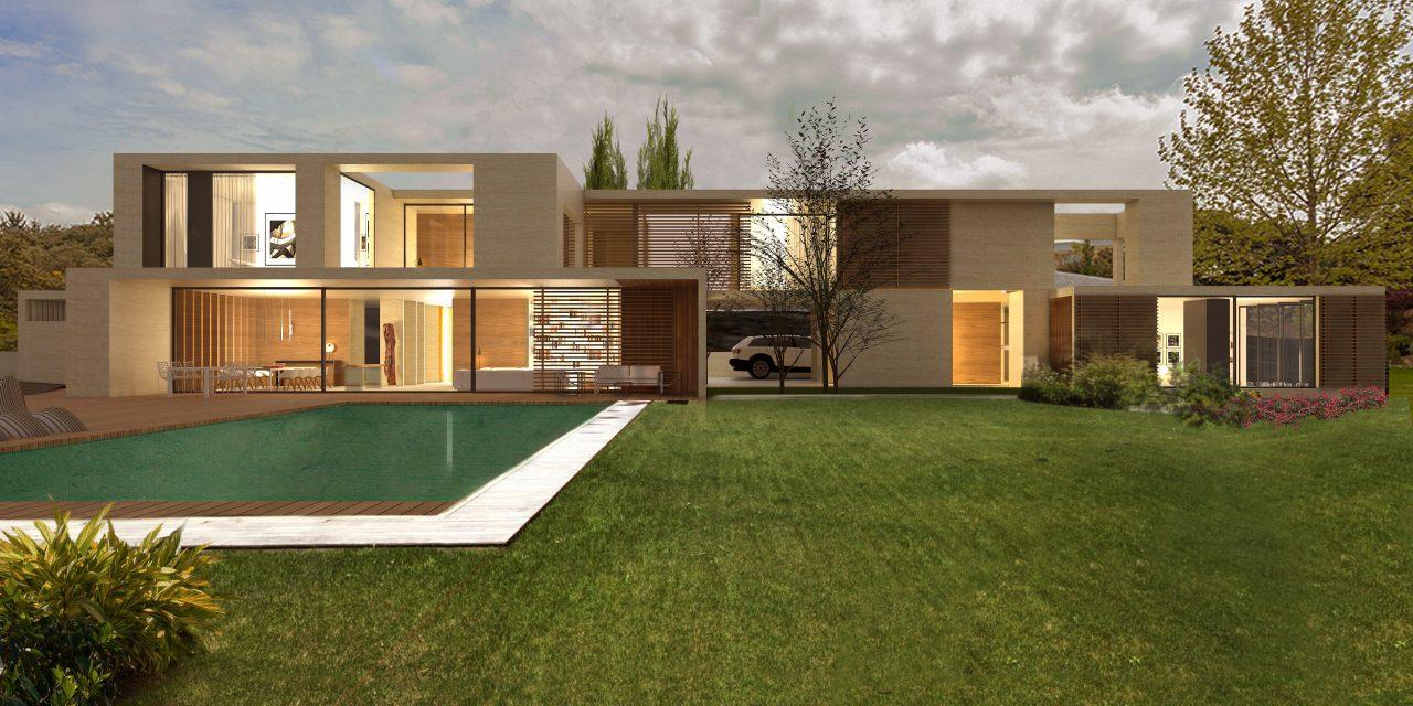 Casa L5 de Álvarez Sotelo Arquitectos en Ciudalcampo (Madrid)