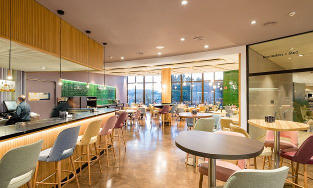 FFWD Arquitectes completa la reforma interior del restaurante City del Hotel Ciutat de Granollers