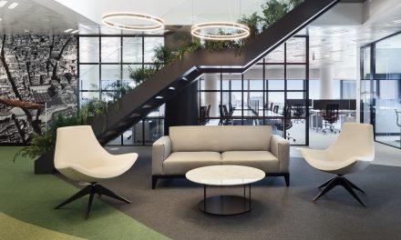 Nuevas oficinas de Aquila Capital + AQ Acentor en Torre Espacio (Madrid) por PLUG&GO