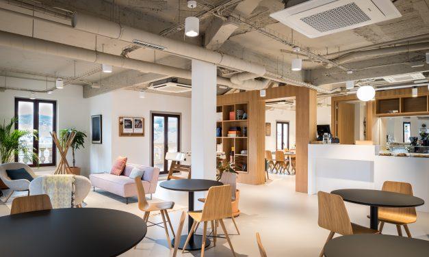 Estudio Monochrome diseña el nuevo centro de co-working de la firma Spaces en Bilbao