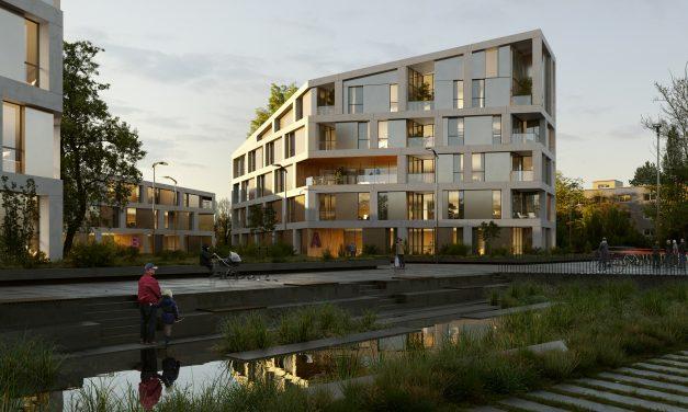 Bakpak Architects gana el primer premio para la ordenación de un área residencial en Karlsruhe (Alemania)