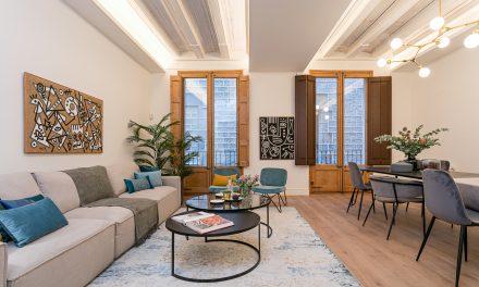 Reforma integral de una vivienda de 139m2 en un edificio de 1890 en Barcelona