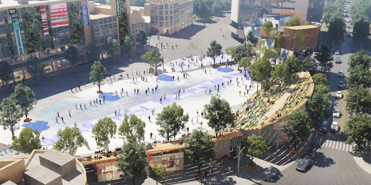Miralles Tagliabue EMBT gana la renovación de Century Square en East Nanjing Road en Shanghai