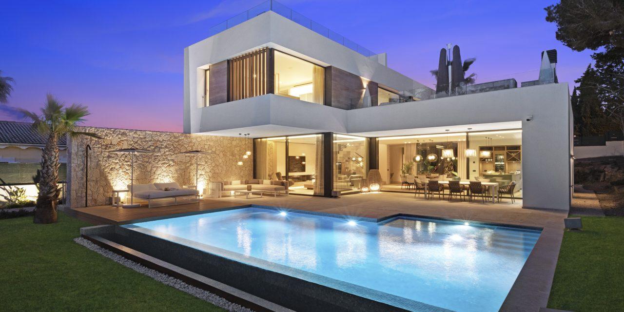 Jaime Salvá finaliza una vivienda unifamiliar en Santa Ponça (Mallorca)