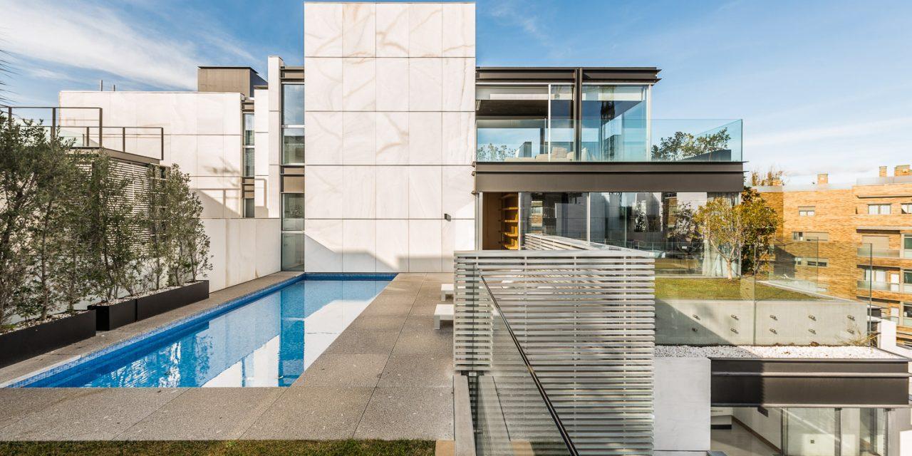 Inmobiliaria Tiuna finaliza Madroños 29 en Madrid firmado por Bueso-Inchausti & Rein