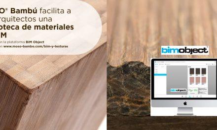 MOSO facilitará a los arquitectos su biblioteca de materiales de bambú en BIM