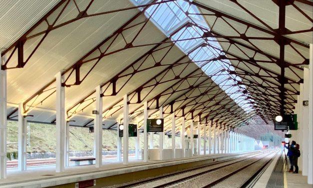 Inauguración de la nueva estación de viajeros de Canfranc realizada por Ingennus