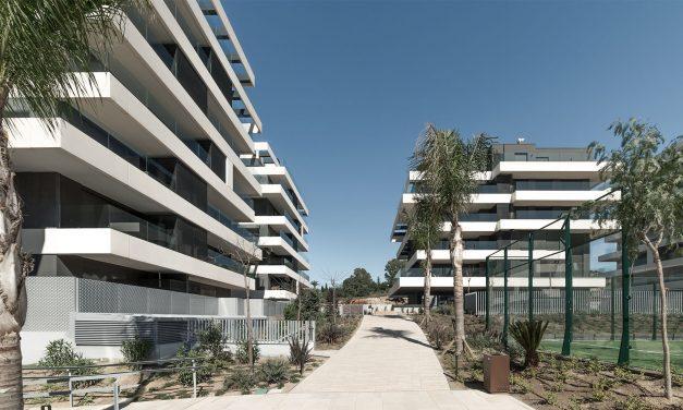 L35 finaliza la primera fase de Terrazas de Teatinos en Málaga