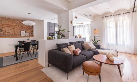 Coblonal convierte un apartamento en La Bonanova (Barcelona) en un hogar familiar