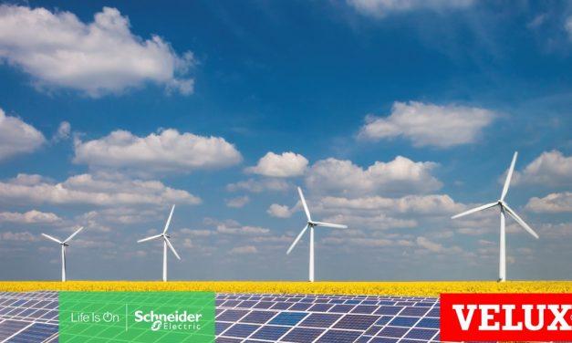 El Grupo VELUX y Schneider Electric amplían su colaboración para acelerar su compromiso hacia la neutralidad de carbono
