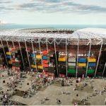 El estadio desmontable de la española Fenwick Iribarren para Qatar 2022 se estrena el próximo 30 de noviembre